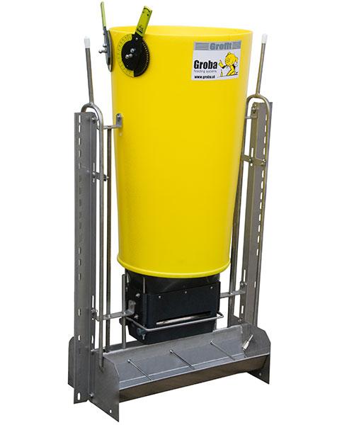 Grofit automatic feeding system - biggen voerbak